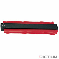 Profile Gauges with Plastic Blades, Length 255 mm Dictum